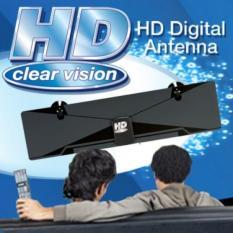 Anten truyền hình kỹ thuật số mặt đất DVB-T2 HD Clear Vision lắp đặt trong nhà nhỏ gọn bắt sóng khỏe nhất