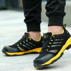 Giày bảo hộ lao động dáng thể thao Aolang A555 vàng