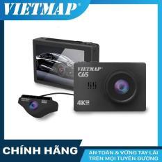 Camera Hành Trình Ô Tô Vietmap C65 Màn Hình Cảm Ứng OLED 3 – Ghi Hình Trước Ultra 4K + Ghi Hình Sau Full HD 1080P – Giá Đỡ Nam Châm Tích Hợp GPS – Tích Hợp WiFi Xem Trực Tuyến Qua Điện Thoại – Tặng Kèm Thẻ Nhớ 16GB