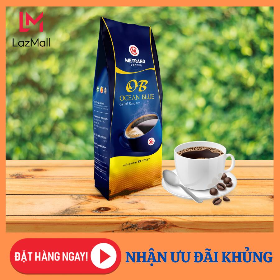Cà Phê Mê Trang Ocean Blue – túi bột 500g – Cà phê nguyên chất