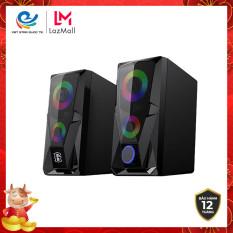 Loa game máy tính RS200 hiệu ứng đèn LED, âm thanh HD chất lượng cao, bảo hành 12 tháng, đổi mới trong 7 ngày, RS200