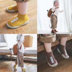 Giày bún đế mềm cao cổ siêu xinh cho bé(giao màu ngẫu nhiên)