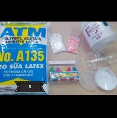 Bộ kit làm slime – 110k loại 5 – combo nguyên liệu làm slime