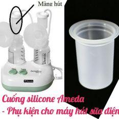 Cuống silicone Ameda – Phụ kiện thay thế máy hút sữa điện Đơn Đôi Maymom