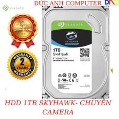 Ổ Cứng 1TB SEAGATE SKYHAWK 3.5″ SATA 3 — Chuyên Camera-FPT / VIỄN SỚN Phân Phối 7200 prm 64Mb cache- TẶNG CÁP SATA3 ZIN