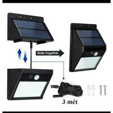 Đèn năng lượng mặt trời 28Led/5W, pin và đèn có thể tách rời cảm biến hồng ngoại 3 chế độ