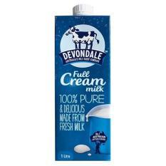 [Siêu thị Lazada] Sữa tươi nguyên kem Devondale hộp 1 lít