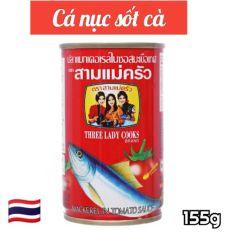 Cá mòi 3 cô gái – Cá nục sốt cà 155g HSD: 03/12/2022