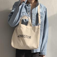 [Hàng Chất Lượng]Túi tote vải canvas HEYMISTER dành cho nam nữ mang phong phong cách Hàn Quốc-DUHA SPORT