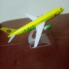 Mô hình máy bay tĩnh A320 S7 (16cm)