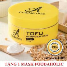 Kem Body Tofu Dưỡng Trắng Da Toàn Thân 250g