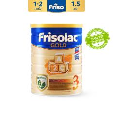Sữa Bột Friso Gold 3 1.5kg cho trẻ từ 1-2 tuổi – HSD tháng 08/2022
