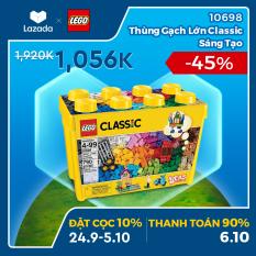 [ƯU ĐÃI ĐẶT TRƯỚC 24.09-05.10] – LEGO CLASSIC 10698 Thùng Gạch Lớn Classic Sáng Tạo ( 790 Chi tiết) Đồ chơi lắp ráp sáng tạo – Chỉ áp dụng trên APP