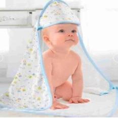 Khăn Choàng Ủ Xô Aden Anais có mũ 4 lớp cho bé