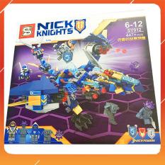 Đồ Chơi Noel – Lắp Ghép Kinght Sy912 – Đồ Chơi Trẻ Em Toy Mart