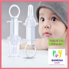 Xi lanh bón sữa đầu bọc silicon chia 2 tia chống sặc dành cho bé, cam kết hàng đúng mô tả, chất lượng đảm bảo, an toàn cho người sử dụng