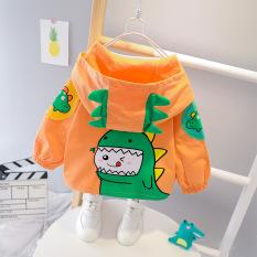 [ HÀNG ĐỘC CHO BÉ ] Áo khoác cho bé tạo kiểu dáng KHỦNG LONG ngộ nghĩnh – full size cho bé từ 7-25 KG
