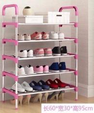 Kệ để giày dép 5 tầng khung inox Tiện lợi