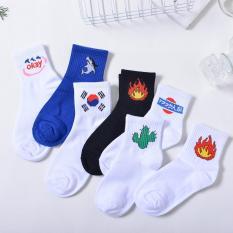 Combo 5 đôi tất Hàn Quốc đủ kiểu – vớ Tất Hàn Quốc hot nhất