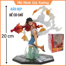 Mô hình One Piece Luffy gear 2 haki figure F.zero hàng cao cấp đế có chữ tên nhân vật luffy cao 20cm có hiệu ứng đặc biệt , figure mô hình anime , mô hình giá xưởng