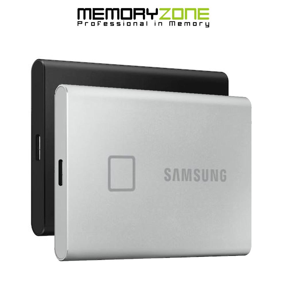 [HCM]Ổ cứng di động 500GB External SSD Samsung T7 Touch USB 3.2 Gen 2 MU-PC500