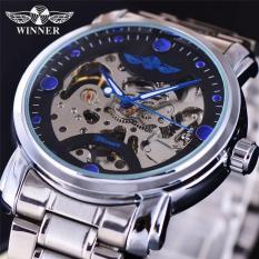 Đồng hồ cơ nam thời trang cao cấp Winner DHR005W máy cơ Automatic phong cách mạnh mẽ