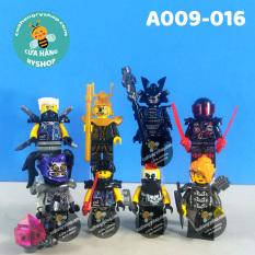 Non Lego – 8 Nhân vật trong NinjaGo Season 10 – A009-016