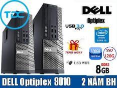 [Trả góp 0%]Case DELL Optiplex 7010/9010 (CPU i5 RAM 8Gb SSD 120GB – HDD 500GB ) TẶNG usb thu wifi. Dùng cho văn phòng học tập giải trí. Bảo hành 24t