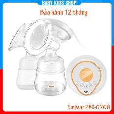 Máy hút sữa điện đôi Cmbear 9 cấp độ hút có matxa BH 12 tháng