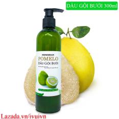 [GIẢM RỤNG TÓC] Dầu Gội Bưởi Pomelo 300ml giúp làm sạch tóc & da đầu, kích thích tóc mọc nhanh hơn, cho mái tóc suôn mượt và bồng bềnh
