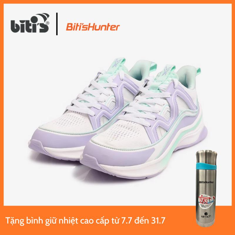 [ Tặng 1 bình giữ nhiệt cao cấp từ 7/7 đến 31/7 ] Giày Thể Thao Cao Cấp Nữ Biti's Hunter X 2K21 Pale Purple DSWH05100TIM (Tím)