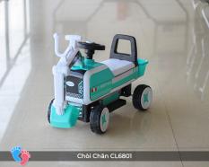 Xe cẩu chòi chân – máy cẩu, máy múc xúc đất chòi chân cho bé BABY PLAZA CL-6801