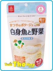 [DATE 2022] Cháo ăn dặm gạo Koshihikari với cá và rau Matsuya (vị sò điệp) 60gr