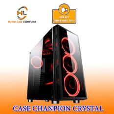 Thùng máy tính Case Chanpion Crystal thích hợp với mọi loại main – Hãng phân phối