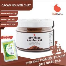 Cacao nguyên chất không đường pha chế thức uống Light Cacao tốt cho sức khỏe – hũ 150g