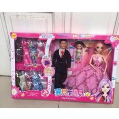 Sale Bộ đồ chơi búp bê Barbie và ken hot quá