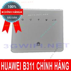 Bộ Phát Wifi 3G/4G Cắm Điện Huawei B311 Tốc Độ Khủng 150Mbps Hỗ Trợ 32 Máy Kết Nối