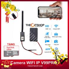 Camera mini WIFI IP FULLHD 4K V99 PRO siêu nét – Camera V99
