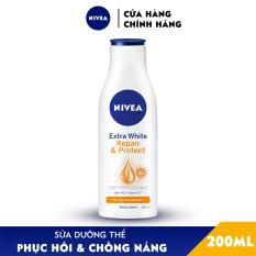 Sữa Dưỡng Thể Dưỡng Trắng Nivea Giúp Phục Hồi & Chống Nắng SPF 30 (200ml) – 88310