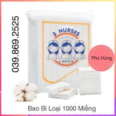 Bông Tẩy Trang 100% cotton – Bông Tẩy Trang Cao Cấp 2 Lớp – 150 Miếng