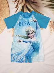 [Hàng xịn Việt Nam] Đồ bơi bé gái liền quần dễ thương 12-27kg-Công chúa Elsa & Anna chất lượng sản phẩm tuyệt hảo cho bé cảm giác tự tin – thoải mái – dễ chịu-H&N
