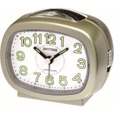 Đồng hồ báo thức Rhythm CRE219NR18 Value Added Beep Alarm Clocks (Vàng)
