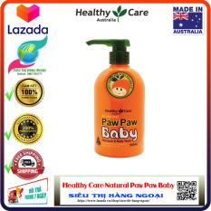 Sữa tắm gội Đu Đủ Paw Paw Baby Healthy Care – Hàng Úc [An toàn cho bé] (được bán bởi Siêu Thị Hàng Ngoại)