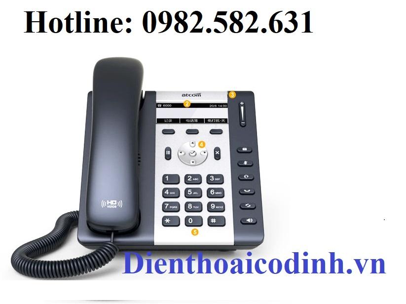 Điện Thoại IP ATCOM A10 - Hàng Chính Hãng- IPPhone tốt nhất việt nam hiện nay. Phân phối độc quyền...