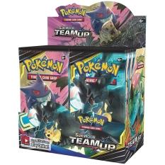 Set 36 hộp thẻ bài đồ chơi pokemon Packs Sun Moon TCG