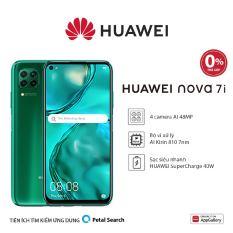 TRẢ GÓP 0% Điện thoại Huawei Nova 7i (8GB/128GB) – Bộ 4 camera sau chụp ảnh linh hoạt-Màn hình LCD 6.4 inch độ phân giải Full HD+ Cảm biến vân tay tích hợp nút nguồn-Pin 4200 mAh với công nghệ sạc nhanh Huawei Supercharge