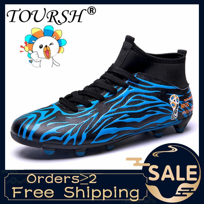 Giày đá bóng cao cổ TOURSH cao cấp - Full size