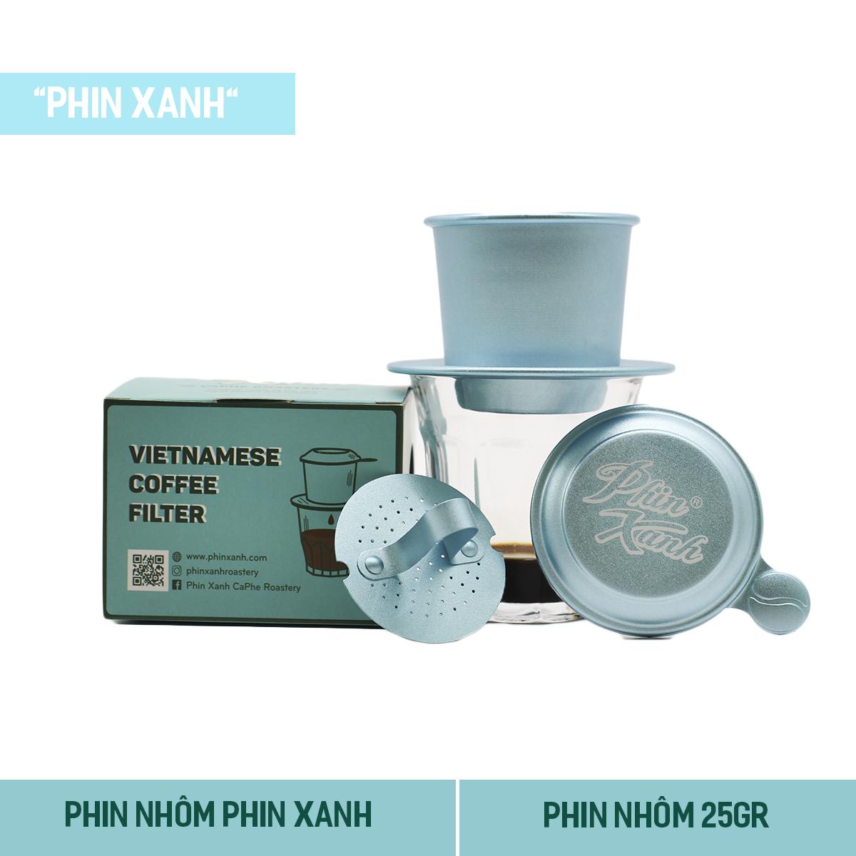 Phin Pha Cà Phê Phin Xanh – Phin Nhôm Phin Xanh Phong Cách Việt Nam