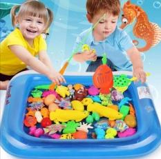 Bộ đồ chơi câu cá kèm phao size to cho bé.