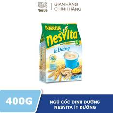 Ngũ Cốc Dinh Dưỡng Nestlé Nesvita Ít Đường – Bịch 16 gói x 25g
